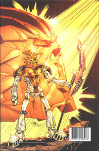 The Saga of Takanuva! back cover