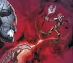 Comic Piraka Vezon Using Spear of Fusion