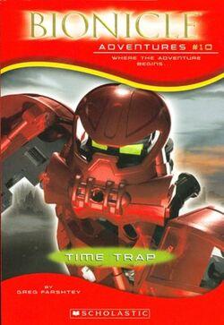 Bionicle Adventures -10 U.S. edition