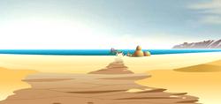 Motara Desert & the beach of Leva Bay