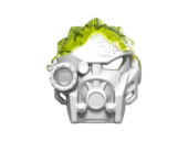 Máscara Convocador del Hielo Drenada