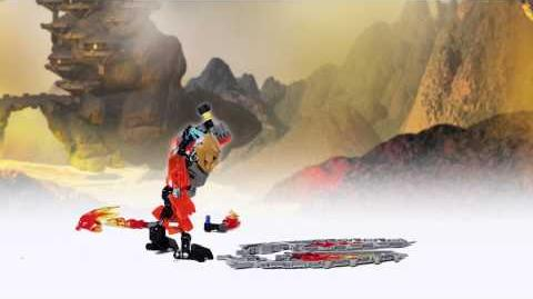 LEGO Bionicle 2015 - Tahu Protector of Fire Power-Up stop motion