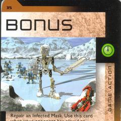 Number 035, Bonus card