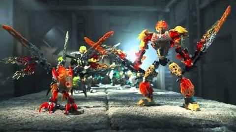 BIONICLE - Battle for the Mask of Control - English