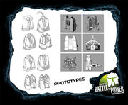 Bionicle rocket boosters prototypes