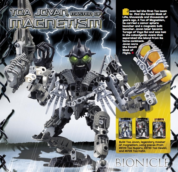 Toa Of Magnetism The Bionicle Wiki Fandom Powered By Wikia