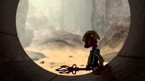 Bionicle Turaga Vakama discovers Tahu's Canister