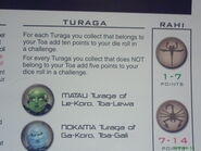 Turaga tokens can help the players