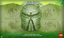 Mistika SoS Main Screen