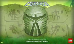 Mistika SoS Main Screen