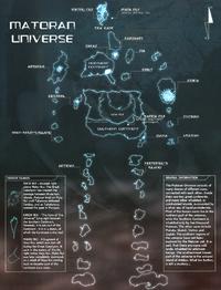 Matoran Universumin kartta