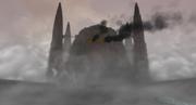 Großer Tempel Brand