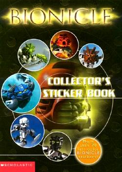 BIONICLE Libro de Sticker de Coleccionista