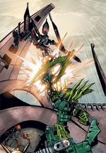 Historieta Duelo en la Arena de Gresh vs Skrall