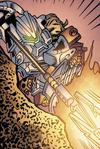 Comic Lava Spear In Use