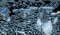 Comic Ring of Ice
