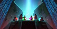 Suojelijat Sankareiden profetia animaatiossa