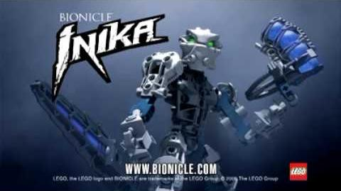 Bionicle Inika White 2006