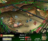 BIONICLE Zona de Batalla Juego