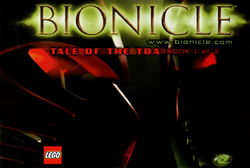Cover - 1 Tale of the Toa