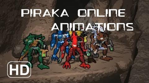 Piraka\Toa Inika Animations