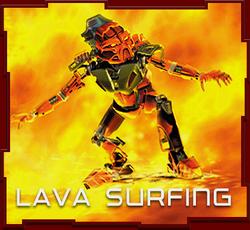 Surf de Lava Juego