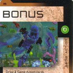 Number 036, Bonus card