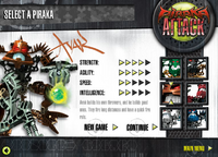 Ataque Piraka Un Jugador Avak