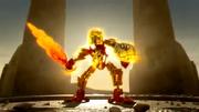 Animation Star Toa Mata Tahu with Golden Armor