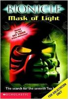 Bionicle Mask of Light book Scholastic Book Fair edition