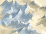 Montañas de Cuarzo Blanco