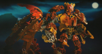 CGI Fire Glatorian