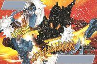 Stronius destruye un Baterra
