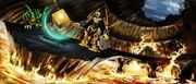 250px-Art Mata Nui and Tarduk Find Power Source-1-