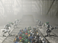 LoMN Matoran entering Coliseum