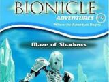 BIONICLE Adventures 6: Maze of Shadows