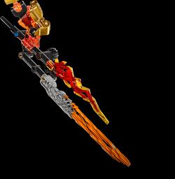 Espada Elemental de Fuego de Tahu