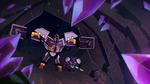 Onua and Protector Dig Through Animation
