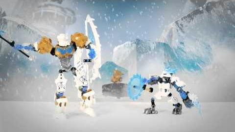LEGO Bionicle 2015 - Kopaka Protector of Ice Power-Up stop motion