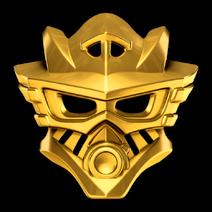 Gali Goldene Maske des Wassers