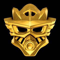 Goldene Maske des Wassers