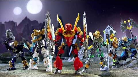 LEGO® Bionicle Battle for the Masks of Creation TVC