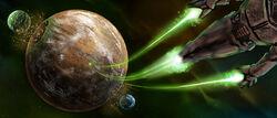 CH10-Mata-Nui-leaving-Spherus-Magna