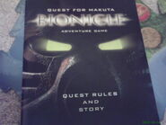 Quest Rules and Story Booklet for the board game