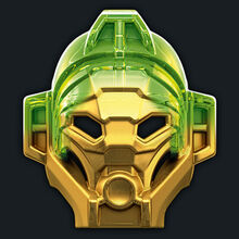 Drained Golden Mask of Jungle