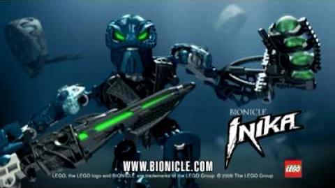Bionicle Inika Blue 2006