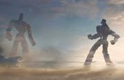 CGI Roboterkampf