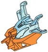 Rockoh T3-Adapted Kanohi Kakama Nuva