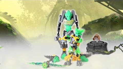 LEGO Bionicle 2015 - Lewa Protector of Jungle Power-Up stop motion