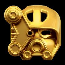 Kopaka Goldene Maske des Eises